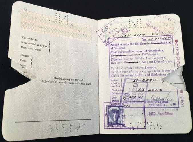 ctb passport 1950 us zone