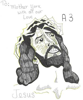 Jesus Drawing
