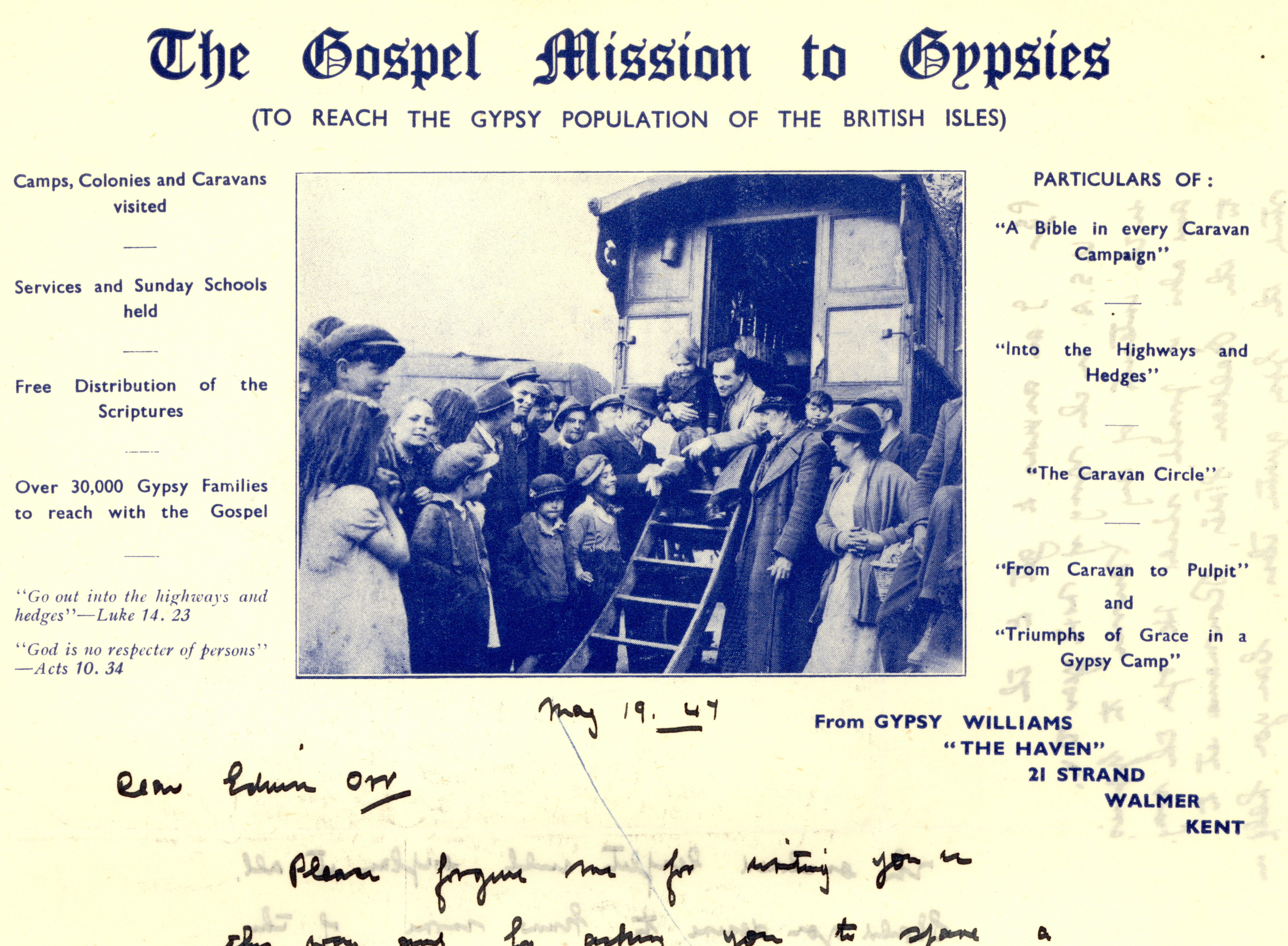 The Gospel Mission to Egypt